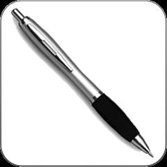 Céges feliratos tollkészlet ajándékok