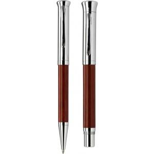 JUIST rózsafa tollkészlet, 2 db-os, fekete tollbetéttel